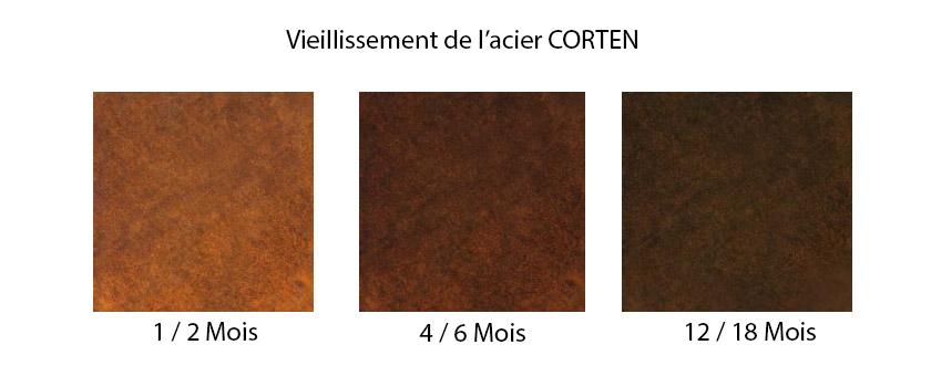 panneau acier corten extension en acier corten par chris dyson architects with panneau acier. Black Bedroom Furniture Sets. Home Design Ideas